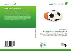 Bookcover of Great West Conference