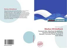 Portada del libro de Markus Winkelhock