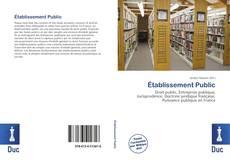 Établissement Public的封面