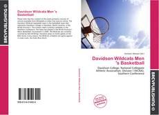 Buchcover von Davidson Wildcats Men 's Basketball