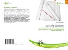 Bookcover of Massimo Carmassi
