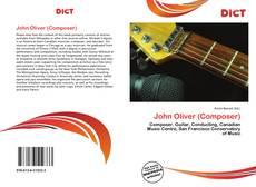 Portada del libro de John Oliver (Composer)