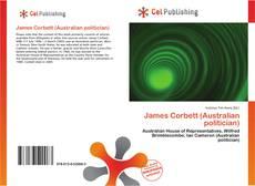 Обложка James Corbett (Australian politician)