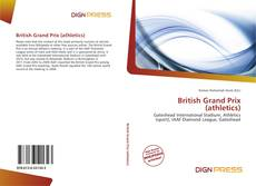 Capa do livro de British Grand Prix (athletics)