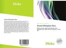 Bookcover of Great Ethiopian Run