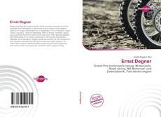 Buchcover von Ernst Degner