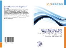 Bookcover of Conseil Supérieur de la Magistrature (France)