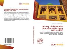 Bookcover of History of the Muslim Brotherhood in Egypt (1939–1954)