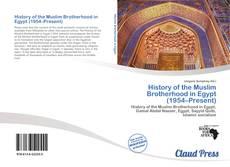 Buchcover von History of the Muslim Brotherhood in Egypt (1954–Present)