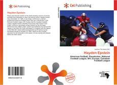 Capa do livro de Hayden Epstein