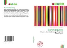 Portada del libro de Aurum (liqueur)