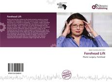 Bookcover of Forehead Lift