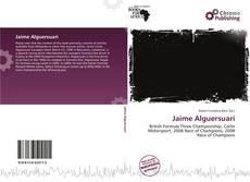 Buchcover von Jaime Alguersuari