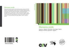 Capa do livro de Manzana verde