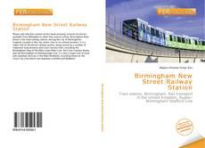 Capa do livro de Birmingham New Street Railway Station