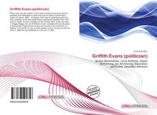 Bookcover of Griffith Evans (politician)