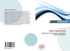 Bookcover of Input Hypothesis