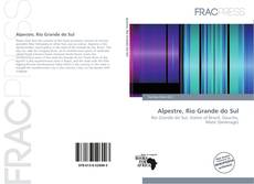 Bookcover of Alpestre, Rio Grande do Sul