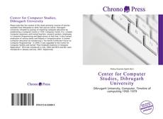 Center for Computer Studies, Dibrugarh University kitap kapağı