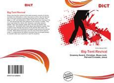 Copertina di Big Tent Revival