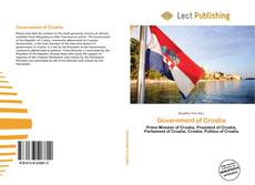Bookcover of Government of Croatia