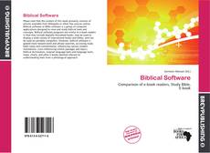 Buchcover von Biblical Software