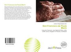 Don Francisco de Paula Marín kitap kapağı