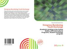 Обложка Congress-Bundestag Youth Exchange