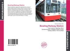 Buchcover von Bowling Railway Station