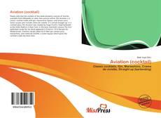 Aviation (cocktail)的封面