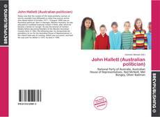 Обложка John Hallett (Australian politician)