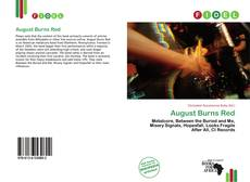 Bookcover of August Burns Red
