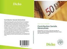 Couverture de Contribution Sociale Généralisée