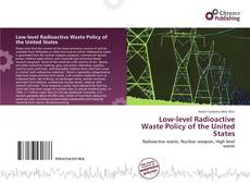 Capa do livro de Low-level Radioactive Waste Policy of the United States