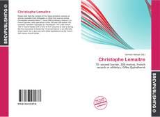 Couverture de Christophe Lemaitre