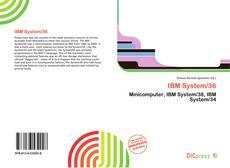 Borítókép a  IBM System/36 - hoz