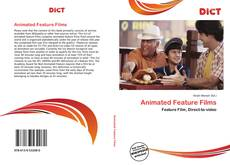 Capa do livro de Animated Feature Films