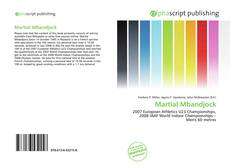 Bookcover of Martial Mbandjock