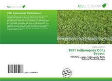Capa do livro de 1991 Indianapolis Colts Season