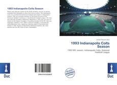 Capa do livro de 1993 Indianapolis Colts Season