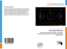 Bookcover of Ernesto Brown