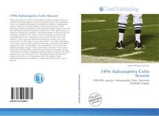 Capa do livro de 1996 Indianapolis Colts Season