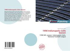 Capa do livro de 1998 Indianapolis Colts Season
