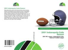 Capa do livro de 2001 Indianapolis Colts Season