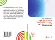 Обложка IBM WebSphere Application Server