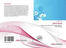Bookcover of Java Card