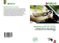 Couverture de Modified stock car racing