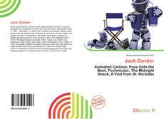 Couverture de Jack Zander