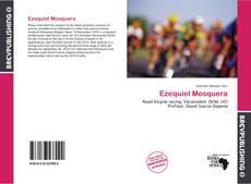 Portada del libro de Ezequiel Mosquera