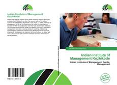 Capa do livro de Indian Institute of Management Kozhikode